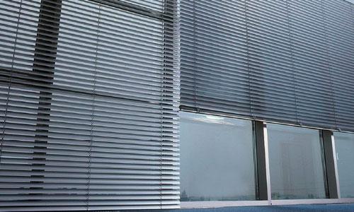 Cortina veneciana aluminio exterior