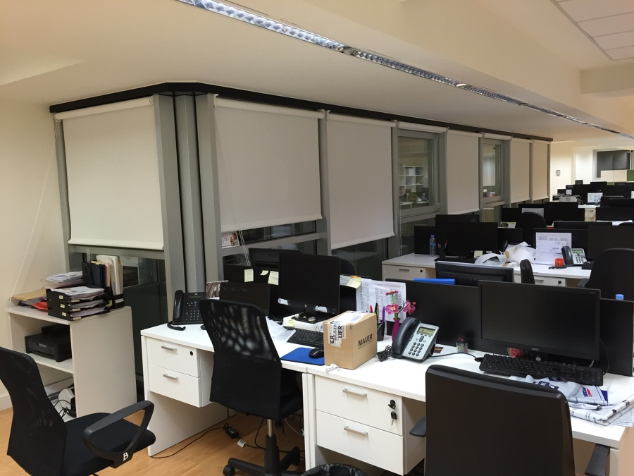 Cortinas Enrollables Polyscreen Oficina
